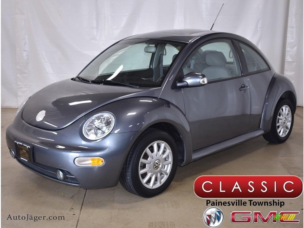 2004 New Beetle GLS Coupe - Platinum Grey Metallic / Black photo #1