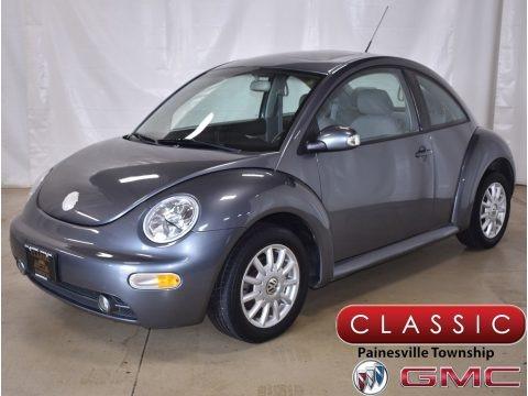 Platinum Grey Metallic 2004 Volkswagen New Beetle GLS Coupe