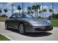 Porsche 911 Carrera Cabriolet Seal Grey Metallic photo #1