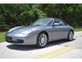 Porsche 911 Carrera Cabriolet Seal Grey Metallic photo #16