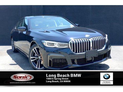 Carbon Black Metallic 2020 BMW 7 Series 740i Sedan