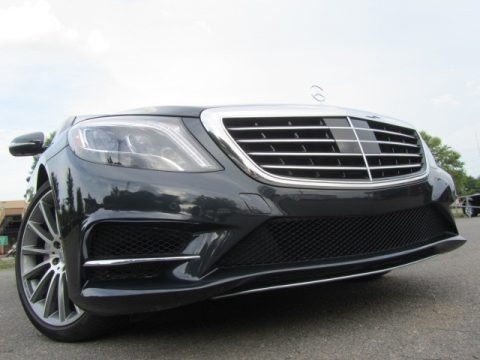 Anthracite Blue Metallic 2015 Mercedes-Benz S 550 4Matic Sedan