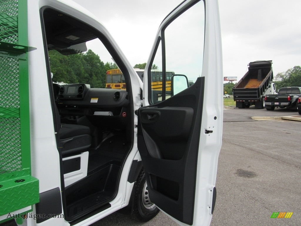 2019 Sprinter 4500 Cab Chassis - Arctic White / Black photo #33