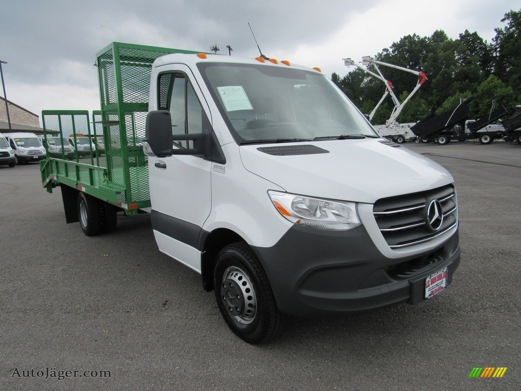 2019 Sprinter 4500 Cab Chassis - Arctic White / Black photo #51
