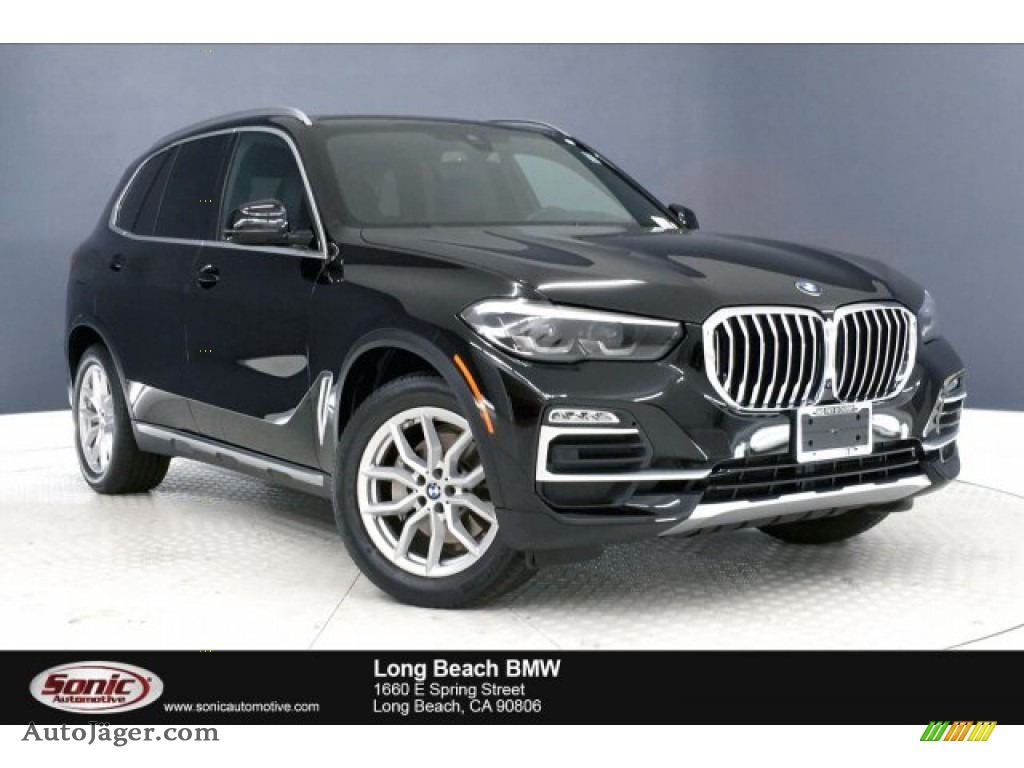 2019 X5 xDrive40i - Jet Black / Black photo #1