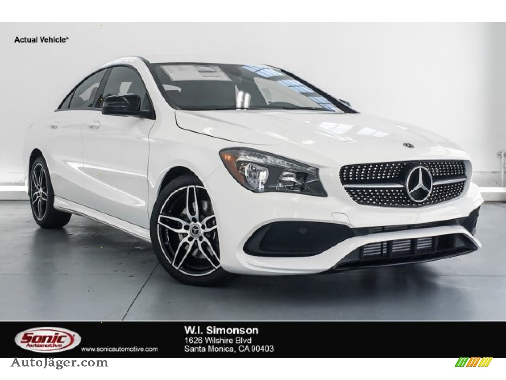 2019 CLA 250 Coupe - Polar White / Black photo #1