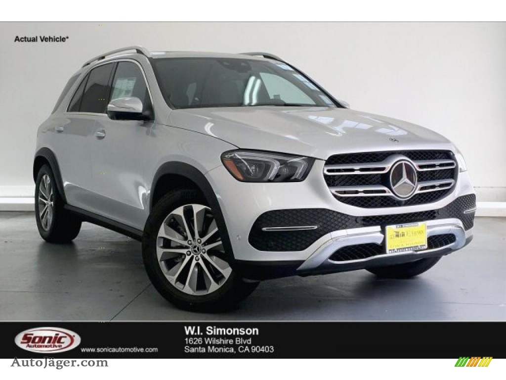 Iridium Silver Metallic / Black Mercedes-Benz GLE 450 4Matic