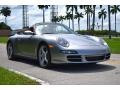 Porsche 911 Carrera 4 Cabriolet GT Silver Metallic photo #2