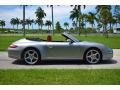 Porsche 911 Carrera 4 Cabriolet GT Silver Metallic photo #3