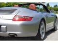 Porsche 911 Carrera 4 Cabriolet GT Silver Metallic photo #7