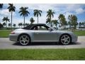 Porsche 911 Carrera 4 Cabriolet GT Silver Metallic photo #70