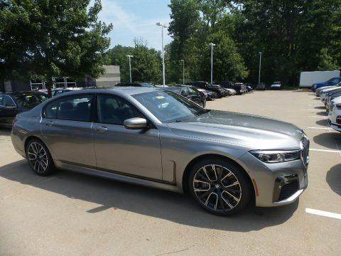 Donington Grey Metallic 2020 BMW 7 Series 750i xDrive Sedan
