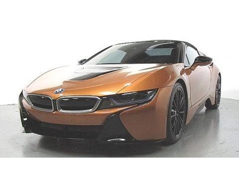 E-Copper Metallic 2019 BMW I8 Roadster