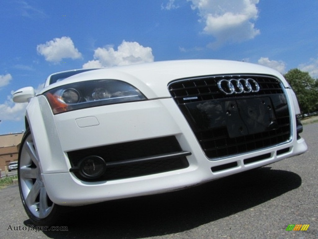 2008 TT 3.2 quattro Roadster - Ibis White / Luxor Beige photo #1