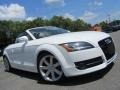 Audi TT 3.2 quattro Roadster Ibis White photo #2