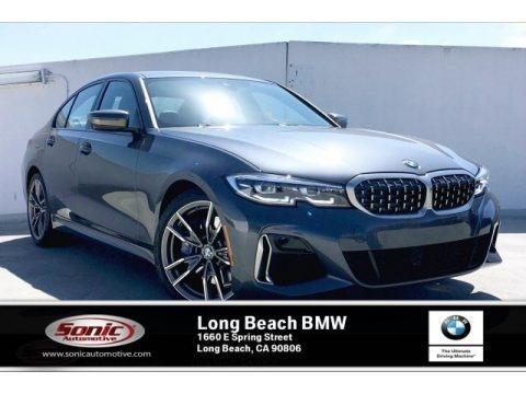 Mineral Grey Metallic 2020 BMW 3 Series 340i Sedan