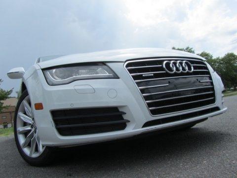Glacier White Metallic 2013 Audi A7 3.0T quattro Premium Plus