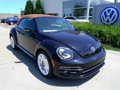Deep Black Pearl 2019 Volkswagen Beetle Final Edition Convertible