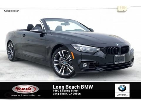 Black Sapphire Metallic 2020 BMW 4 Series 440i Convertible
