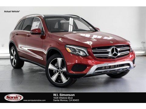 designo Cardinal Red Metallic 2019 Mercedes-Benz GLC 350e 4Matic