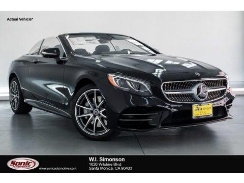 Black 2019 Mercedes-Benz S S 560 Cabriolet