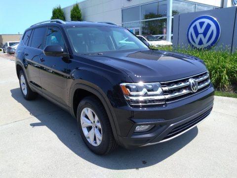 Deep Black Pearl 2019 Volkswagen Atlas SE