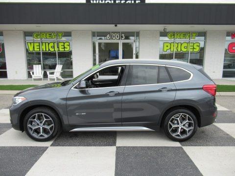 Mineral Grey Metallic 2018 BMW X1 sDrive28i
