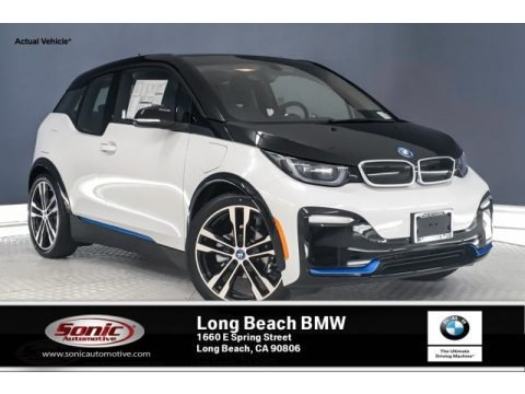 Capparis White 2019 BMW i3 S with Range Extender