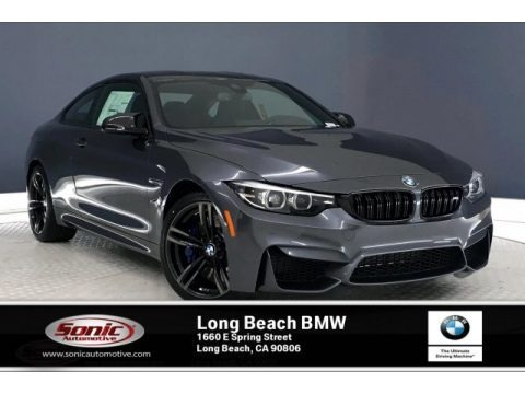 Mineral Grey Metallic 2020 BMW M4 Coupe