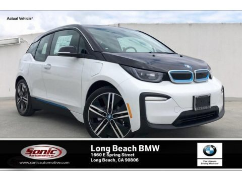Capparis White 2019 BMW i3 with Range Extender