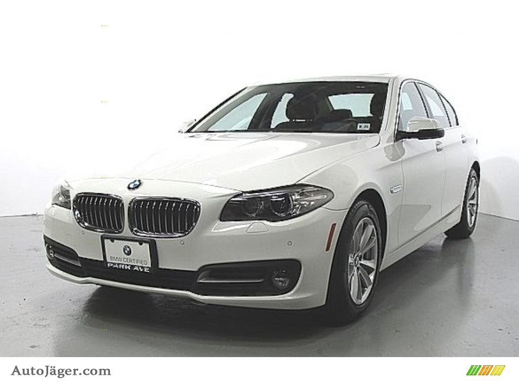 2016 5 Series 528i xDrive Sedan - Alpine White / Cinnamon Brown photo #1