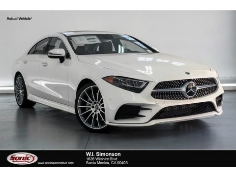 designo Diamond White Metallic 2019 Mercedes-Benz CLS 450 Coupe