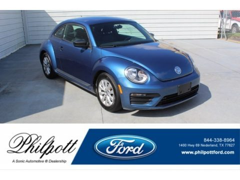 Blue Silk Metallic 2018 Volkswagen Beetle S