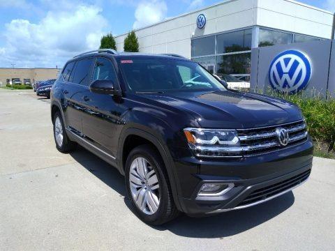Deep Black Pearl 2019 Volkswagen Atlas SEL 4Motion