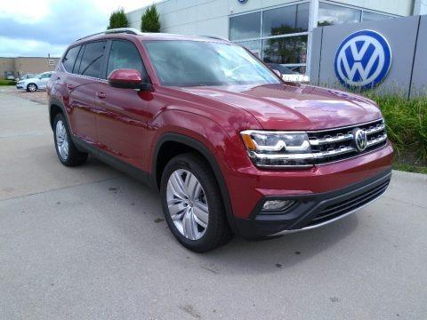Fortana Red Metallic 2019 Volkswagen Atlas SE 4Motion