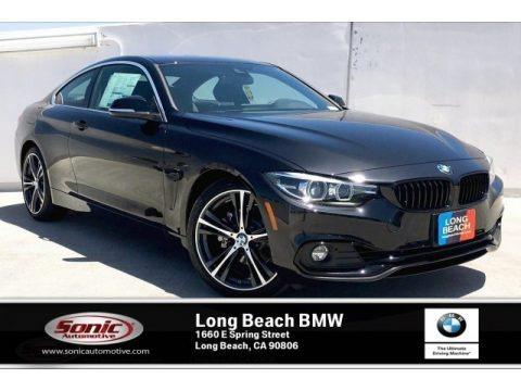 Black Sapphire Metallic 2020 BMW 4 Series 430i Coupe