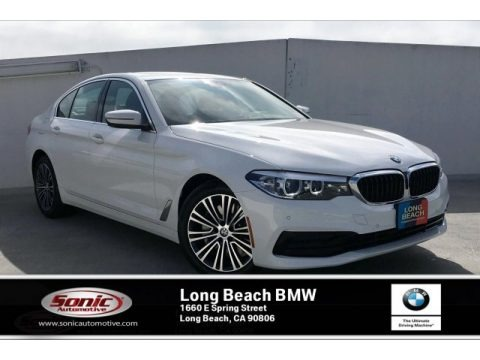 Alpine White 2019 BMW 5 Series 530i Sedan