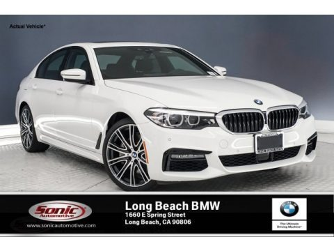 Alpine White 2019 BMW 5 Series 540i Sedan