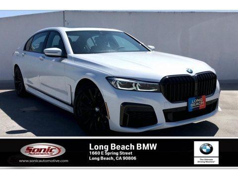 Mineral White Metallic 2020 BMW 7 Series 740i Sedan