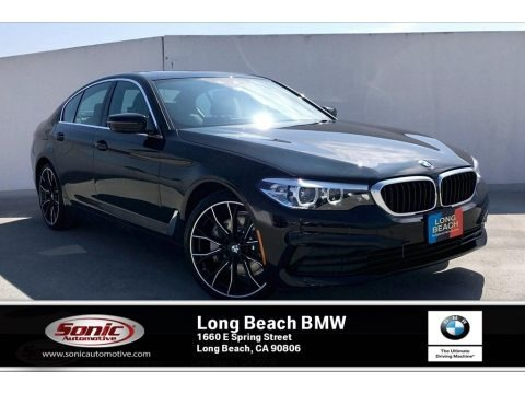 Jet Black 2019 BMW 5 Series 530i Sedan