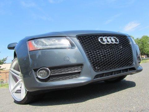 Quartz Gray Metallic 2010 Audi A5 2.0T quattro Coupe