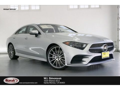 Iridium Silver Metallic 2019 Mercedes-Benz CLS 450 Coupe