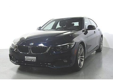 Imperial Blue Metallic 2019 BMW 4 Series 430i xDrive Gran Coupe