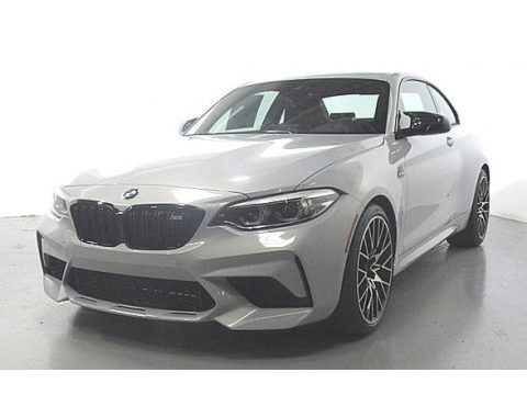 Hockenheim Silver Metallic 2020 BMW M2 Competition Coupe