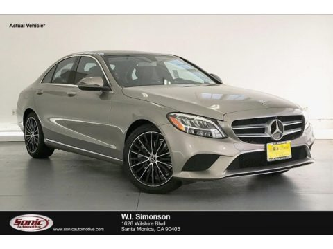 Mojave Silver Metallic 2019 Mercedes-Benz C 300 Sedan