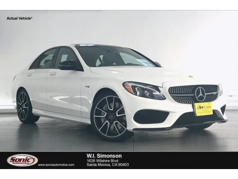 Polar White 2017 Mercedes-Benz C 43 AMG 4Matic Sedan