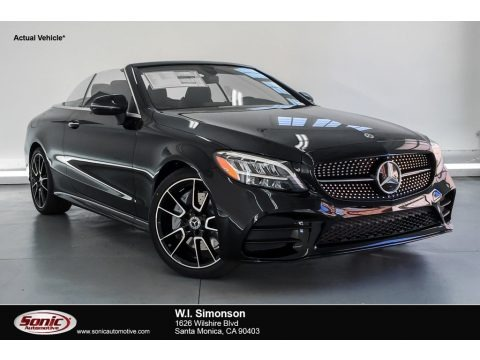 Black 2019 Mercedes-Benz C 300 Cabriolet