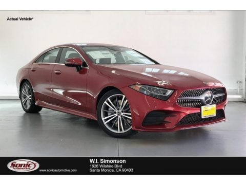 designo Cardinal Red Metallic 2019 Mercedes-Benz CLS 450 Coupe
