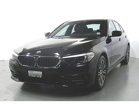 Jet Black 2019 BMW 5 Series 530e iPerformance xDrive Sedan