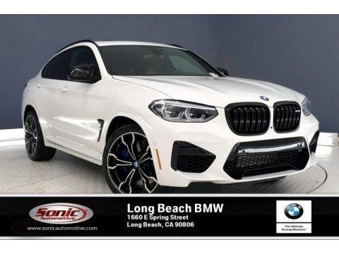 Alpine White 2020 BMW X4 M Competition